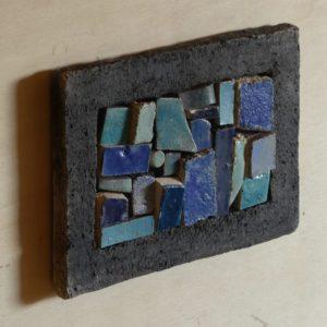 Mosaïque de pièces céramiques