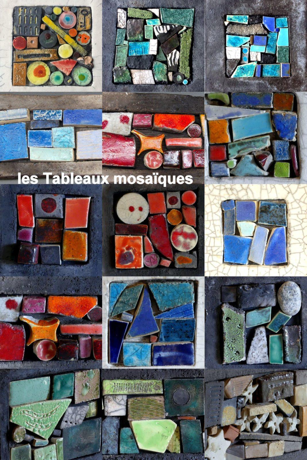 mosaiques en céramique