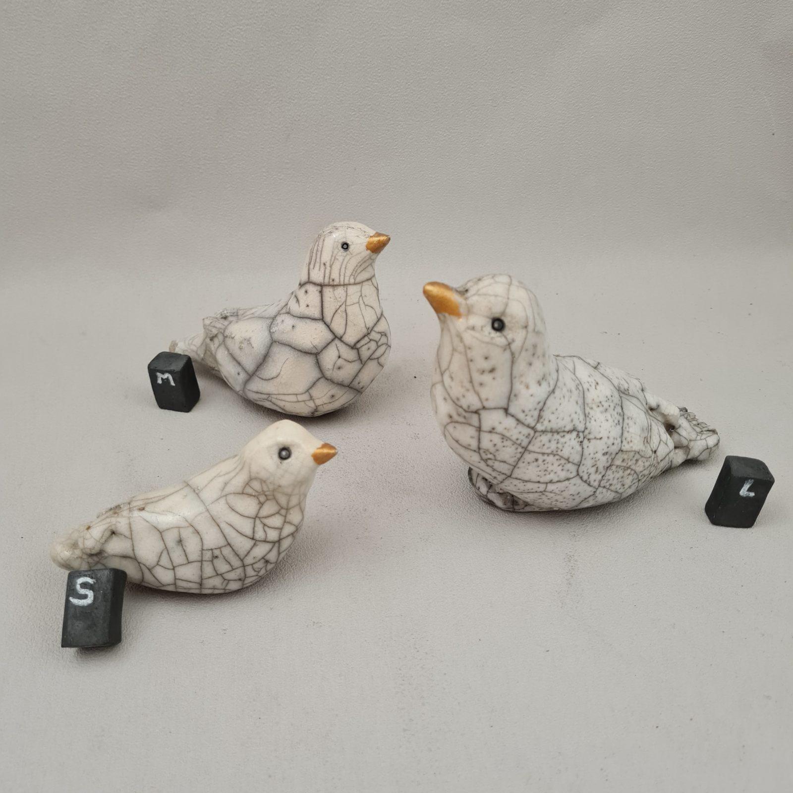 macareux céramique raku